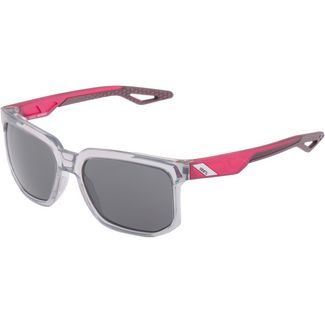 ride100percent Centric Smoke Lens Sportbrille Polished Crystal Grey