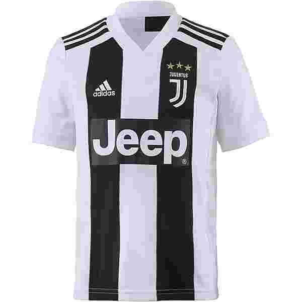 adidas Juventus Turin 18/19 Heim Trikot Kinder black