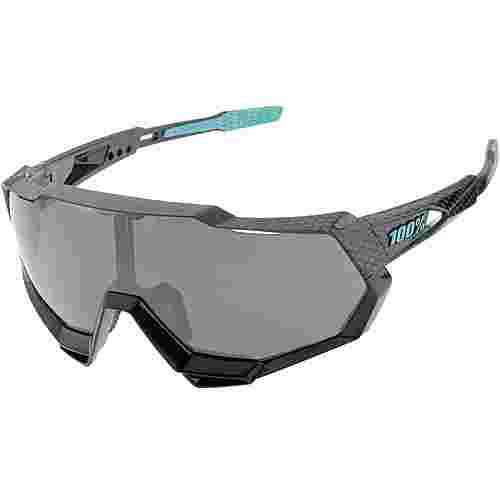 ride100percent Speedtrap Mirror Lens Sportbrille Polished Black / Graphit