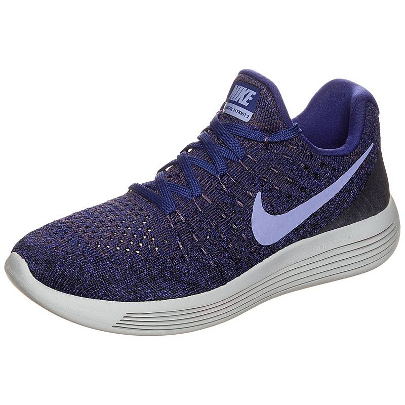 100% authentic 402bf 973d3 Nike LunarEpic Low Flyknit 2 Laufschuhe Damen lila  blau
