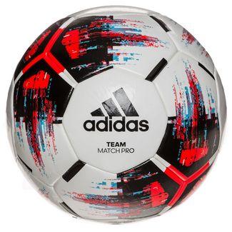 adidas Team Match Pro Fußball weiß / schwarz / rot