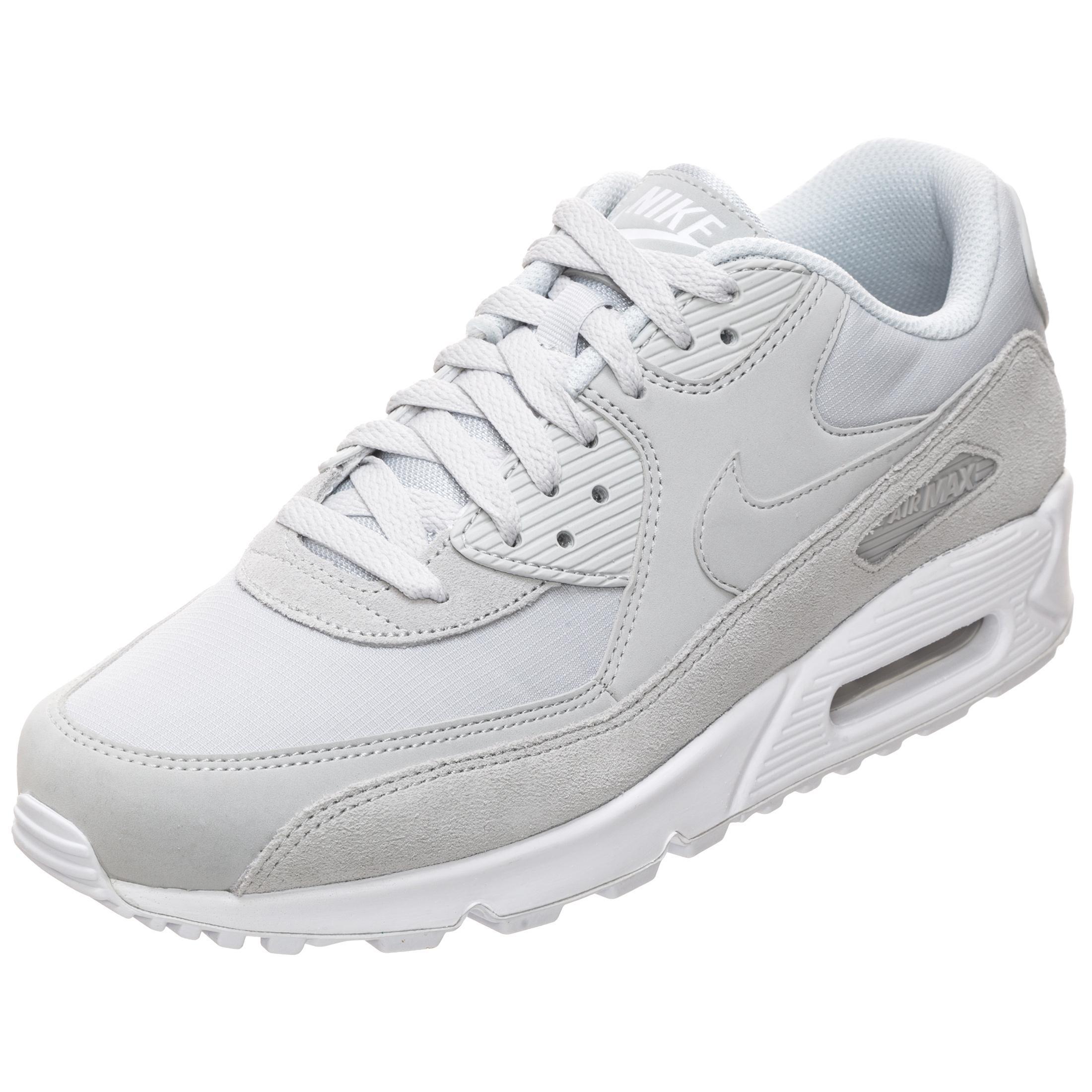 Nike Air Max 90 Essential Sneaker Herren hellgrau weiß im Online Shop von SportScheck kaufen
