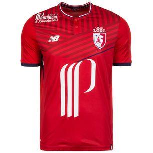 NEW BALANCE Lille OSC 17/18 Heim Fußballtrikot Herren rot / blau