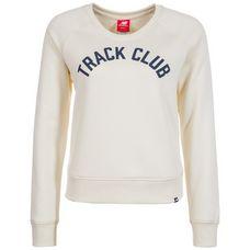 NEW BALANCE Essentials Crew Sweatshirt Damen wollweiß