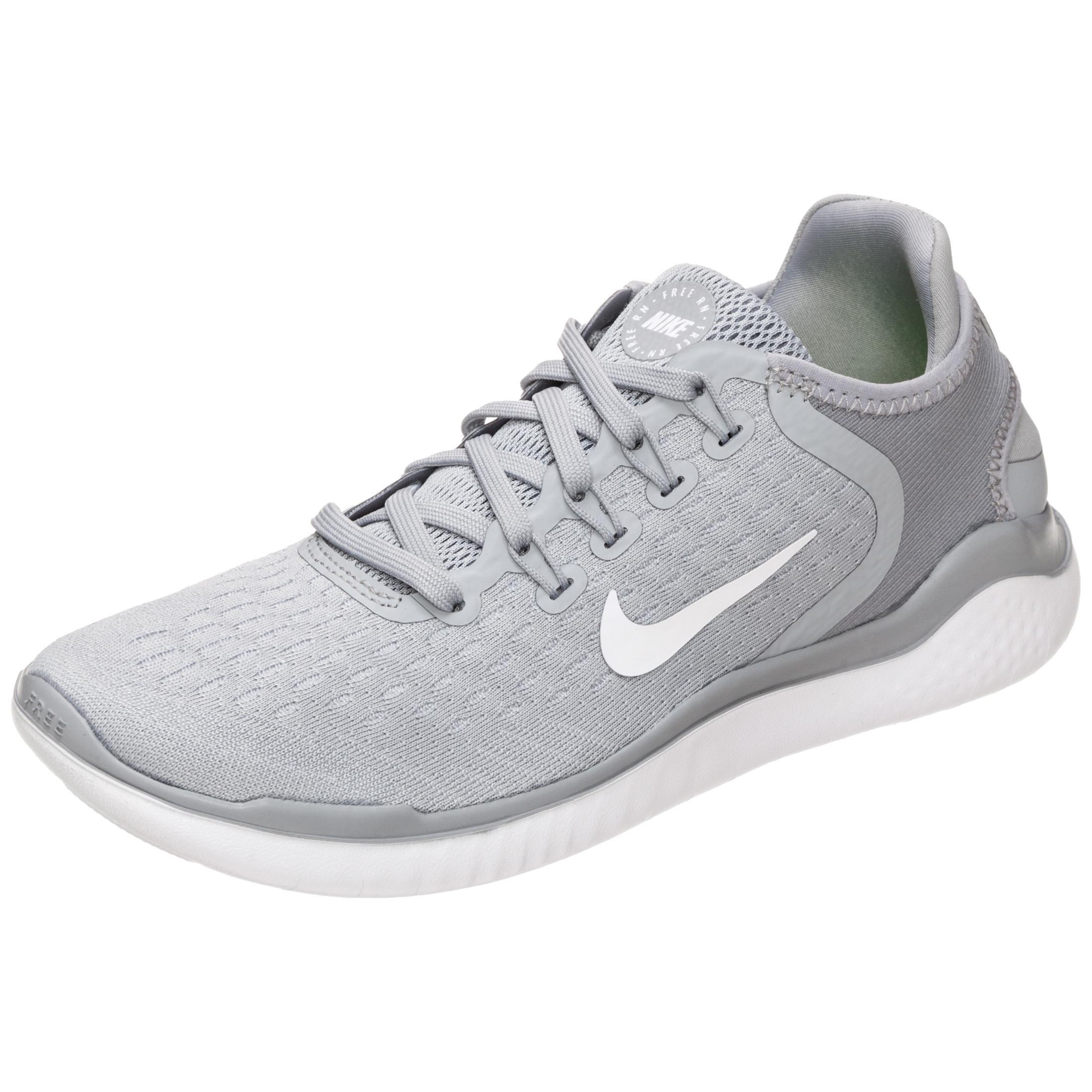 Nike Free RN 2018 Laufschuhe Damen grau / weiß im Online Shop von ...