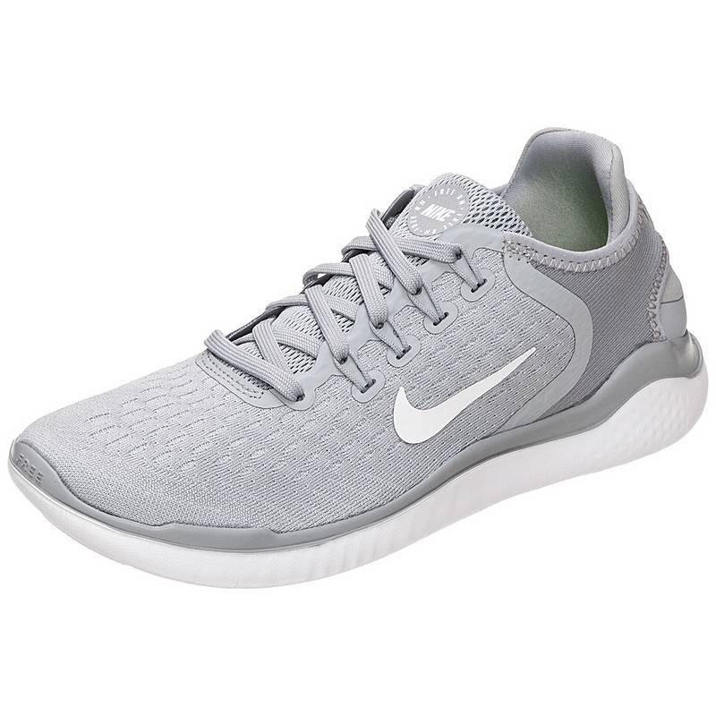 NikeFree RN 2018  LaufschuheDamen  grau / weiß