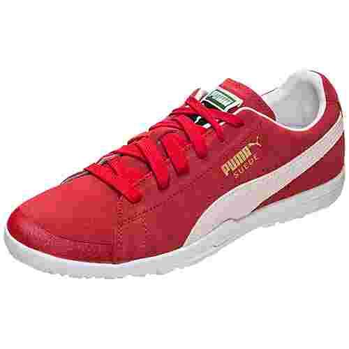sneakers for cheap 2bddb 97e9b PUMA Future Suede 50 Fußballschuhe Herren rot / weiß im Online Shop von  SportScheck kaufen