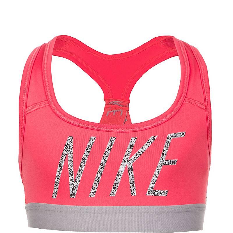 super popular 5541c 3917a Nike Pro Sport-BH Kinder pink  grau