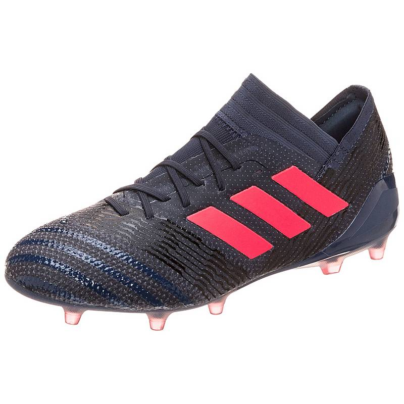 premium selection 3f2d2 f4946 adidas Nemeziz 17.1 Fußballschuhe Damen blau  rot  schwarz