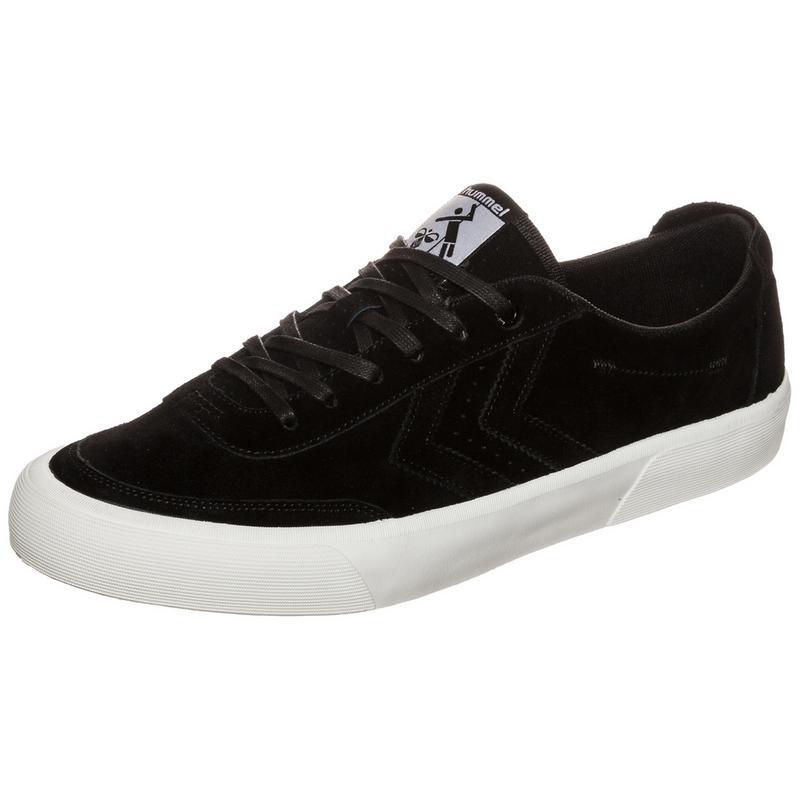 Hummel »Stockholm Suede Low« Sneaker, schwarz, schwarz