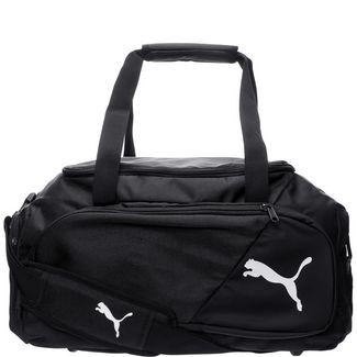 PUMA Liga Large Sporttasche schwarz / weiß