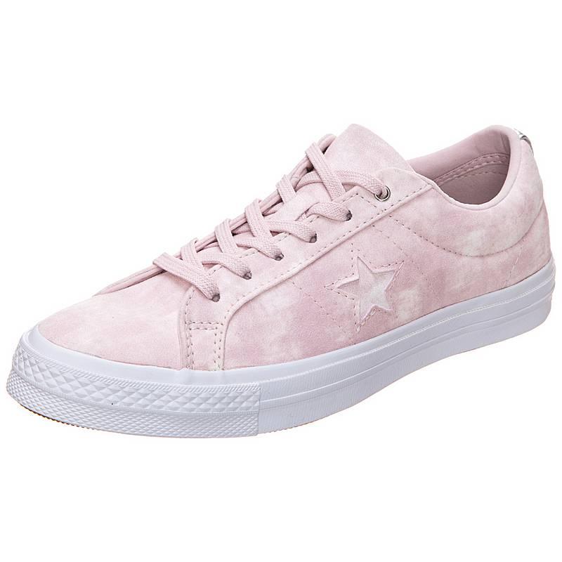 sale retailer 17280 04c0f CONVERSECons One Star Peached Wash SneakerDamen rosa   silber -  sommerprogramme.de