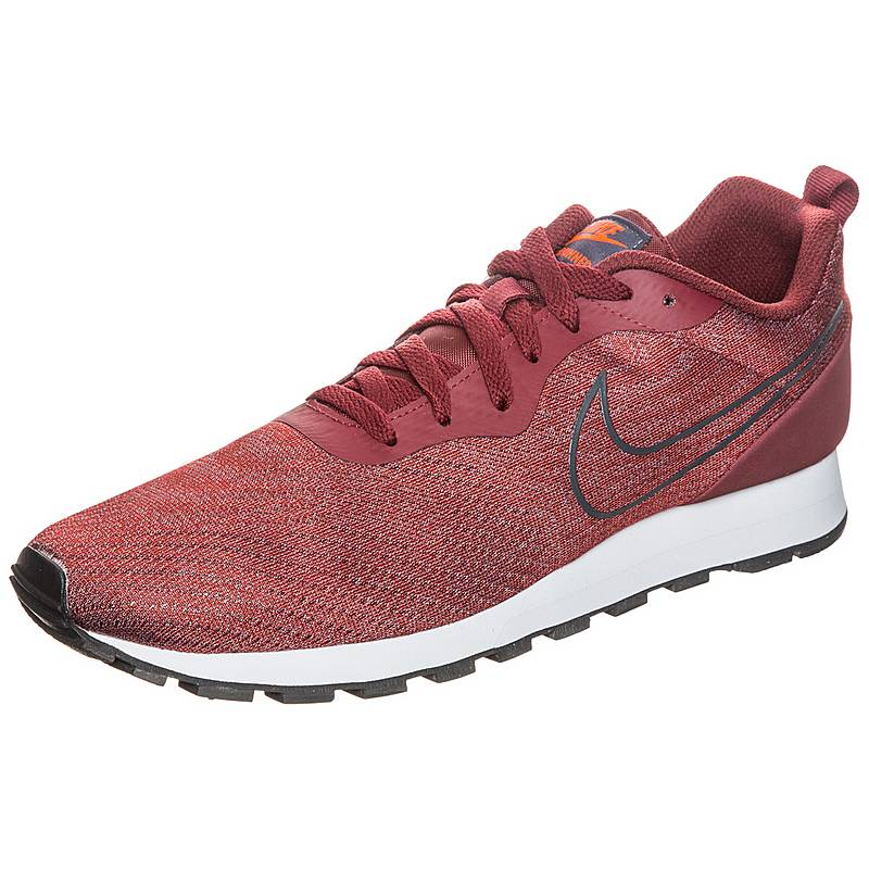 NikeMD Runner 2 Engineered Mesh  SneakerHerren  dunkelrot / grau