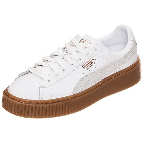 Mode Billig Puma Basket Platform Euphoria Gum Schuhe Sneaker