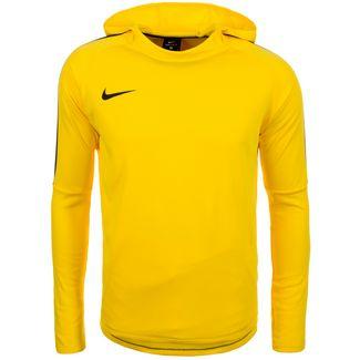 Nike Dry Academy 18 Hoodie Herren gelb / schwarz