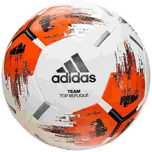 adidas Team TopReplique Fußball weiß / orange