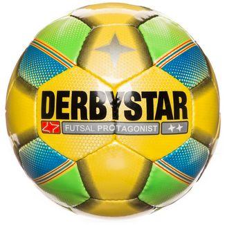 Derbystar Futsal Protagonist Fußball gelb / grün / blau