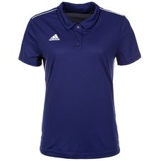 adidas Core 18 Poloshirt Damen dunkelblau / weiß