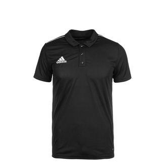 adidas Core 18 Poloshirt Kinder schwarz / weiß