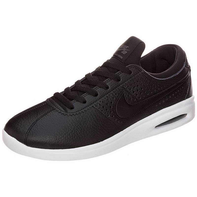 NikeAir Max Bruin Vapor Leather  SneakerHerren  schwarz / grau