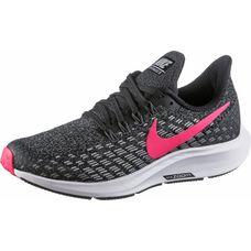 Nike AIR ZOOM PEGASUS Laufschuhe Kinder black-racer pink-white-anthracite