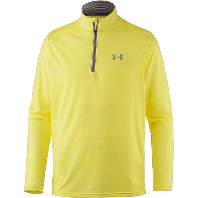 Under Armour Threadborne Streaker Laufshirt Herren semi-frozen-yellow 305ff73a60