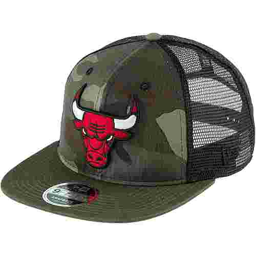 New Era 9FIFTY CHICAGO BULLS Cap woodland camouflage