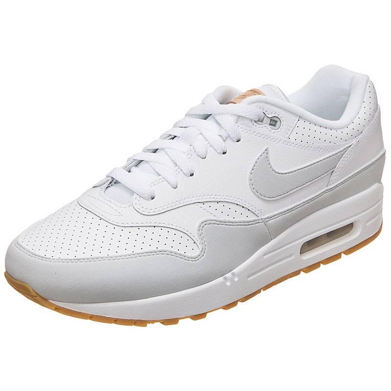 best service efbb8 42a3d ... new zealand nike air max 1 sneaker herren weiß grau 318f4 aa9c9