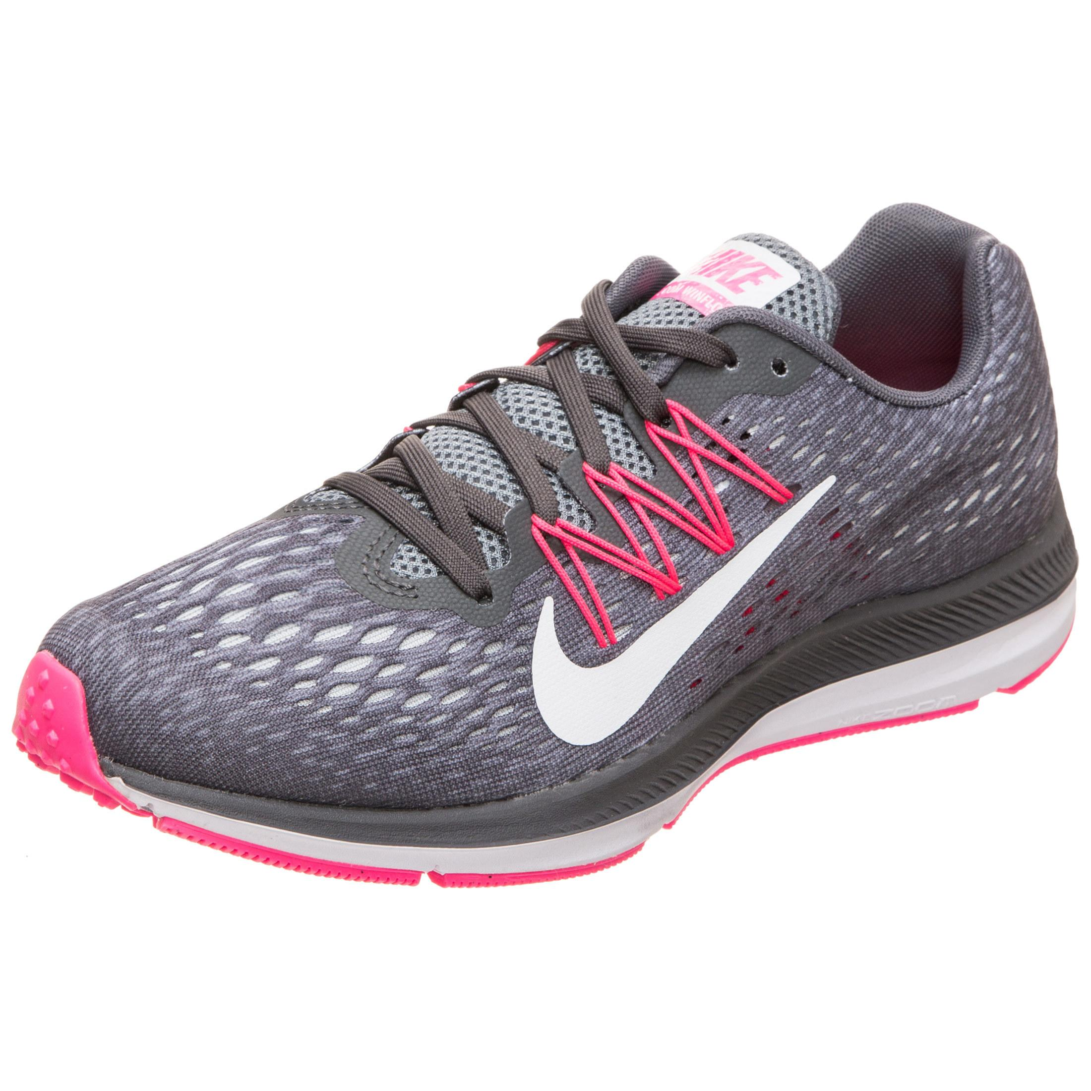 Nike Air Zoom Winflo 5 Laufschuhe Damen grau / rosa / weiß im Online Shop  von SportScheck kaufen