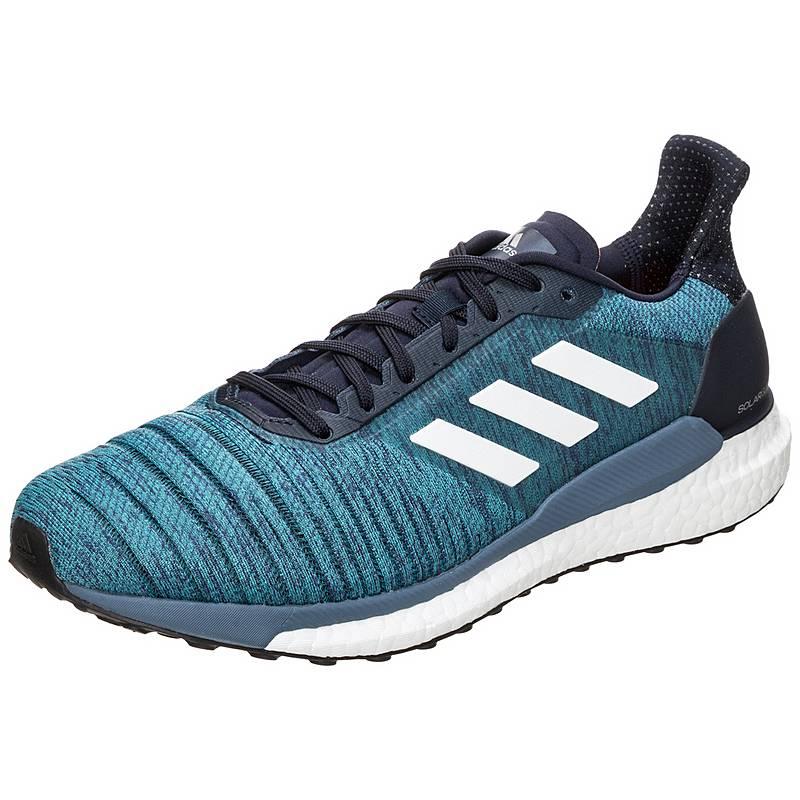 new style 0d4cd 7d65a adidasSolar Glide LaufschuheHerren blau   weiß