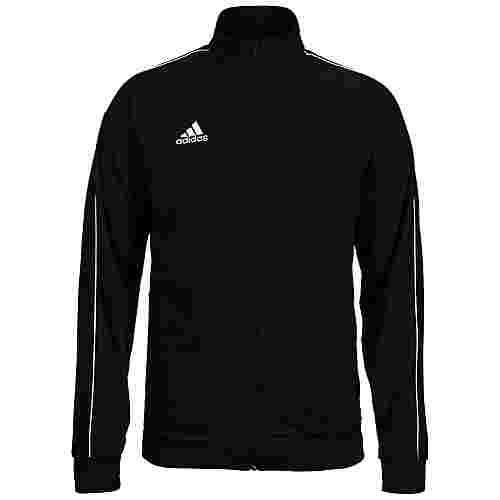 adidas Core 18 Trainingsjacke Herren schwarz / weiß
