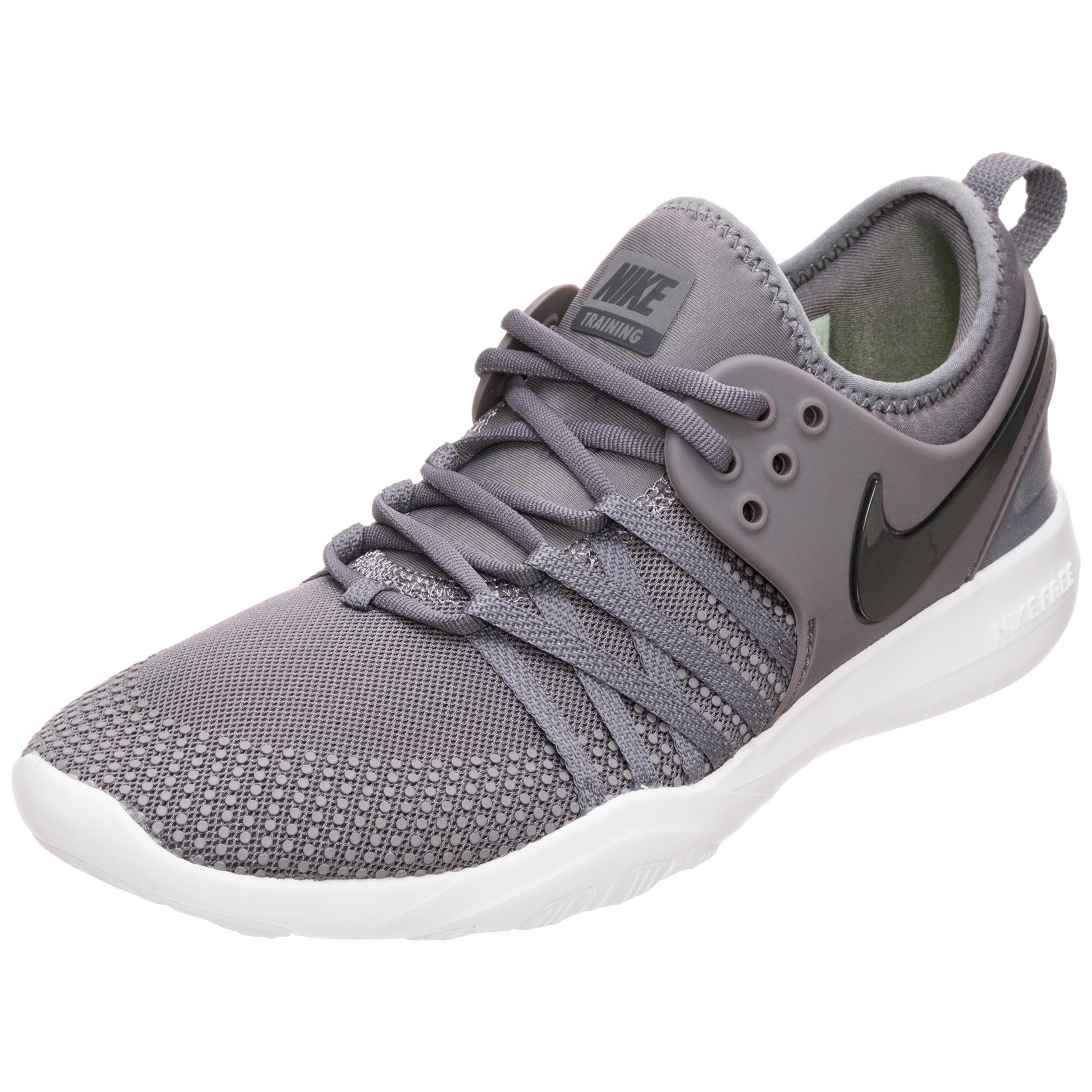 Nike Free Trainer 7 Fitnessschuhe Damen grau / weiß im Online Shop von  SportScheck kaufen