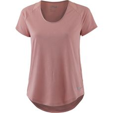 Nike Jacquard Laufshirt Damen rust pink