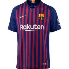 Nike FC Barcelona 18/19 Heim Fußballtrikot Herren deep royal blue-university gold
