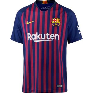 premium selection 65f4b 8fe09 Nike FC Barcelona 18 19 Heim Fußballtrikot Herren deep royal  blue-university gold
