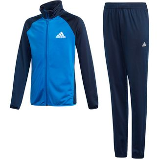 adidas Trainingsanzug Kinder collegiate navy-blue-white