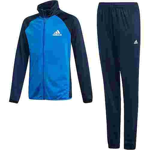 adidas Trainingsanzug Kinder collegiate navy-blue-white