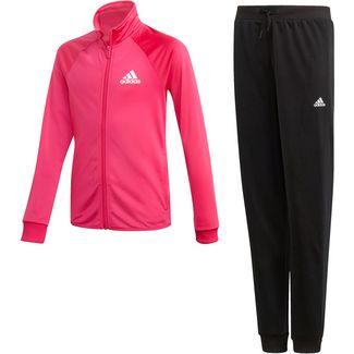 adidas Trainingsanzug Kinder real magenta-black