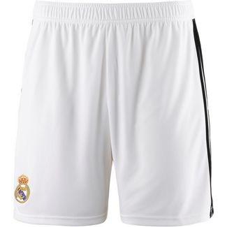 adidas Real Madrid 18/19 Heim Fußballshorts Herren core white