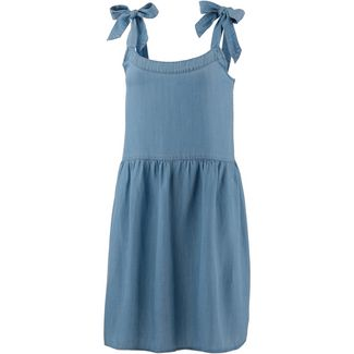 Tommy Jeans Trägerkleid Damen light blue indigo