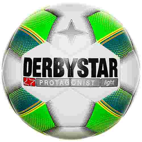 Derbystar Hyper TT Fußball weiß / grün / gelb
