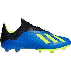 adidas X 18.2 FG Fußballschuhe Herren fooblu-syello-cblack