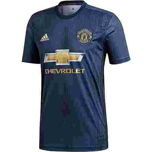 adidas Manchester United 18/19 CL Fußballtrikot Herren collegiate navy