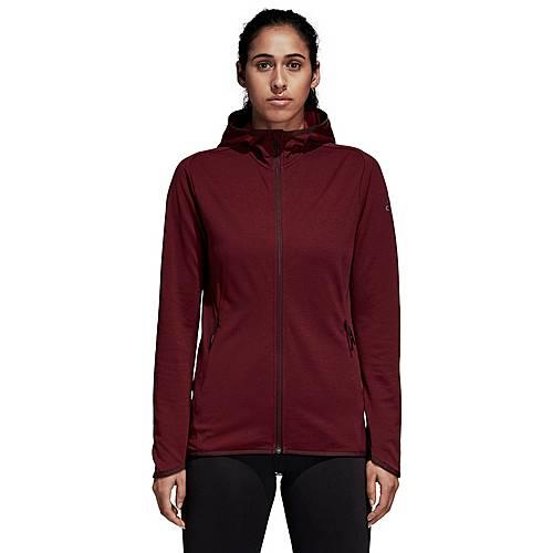 Adidas Climacool Fleecejacke Damen noble maroon im Online