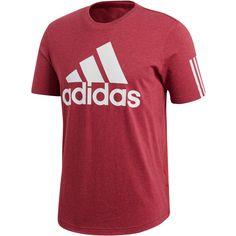 adidas SID Logo T-Shirt Herren noble-maroon