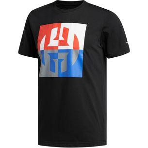 adidas HARDEN BIG LOGO T-Shirt Herren black