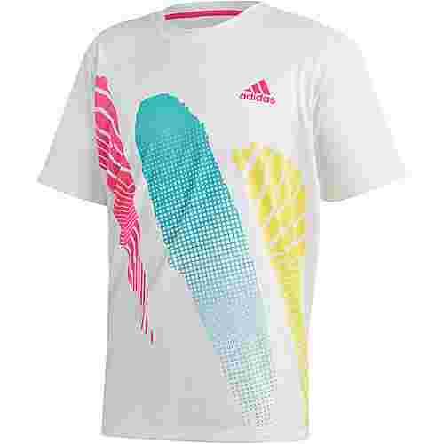 adidas SEASONAL TEE Tennisshirt Herren white