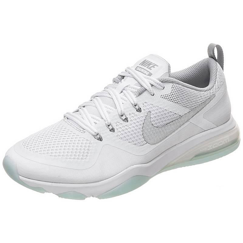 low priced c1466 6f189 Nike Air Zoom Fitness Reflect Fitnessschuhe Damen weiß