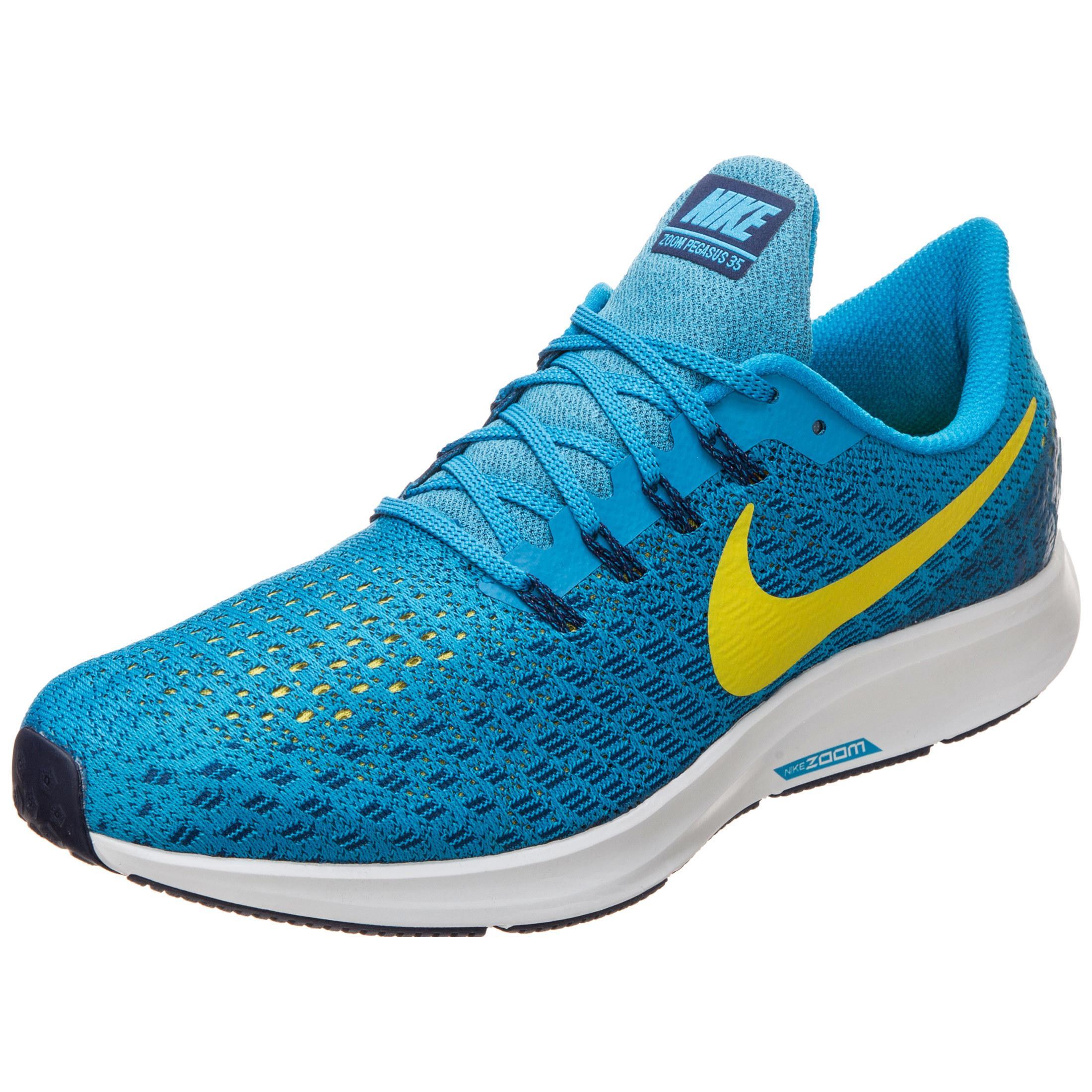 Nike Air Zoom Pegasus 35 Laufschuhe Herren türkis neongelb im Online Shop von SportScheck kaufen