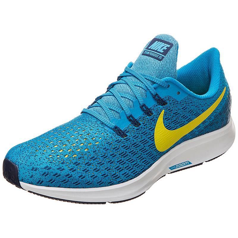online store 12829 75585 Nike Air Zoom Pegasus 35 Laufschuhe Herren türkis  neongelb